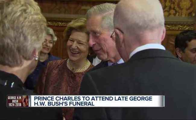 Prince Charles To Attend George H W Bush S One News
