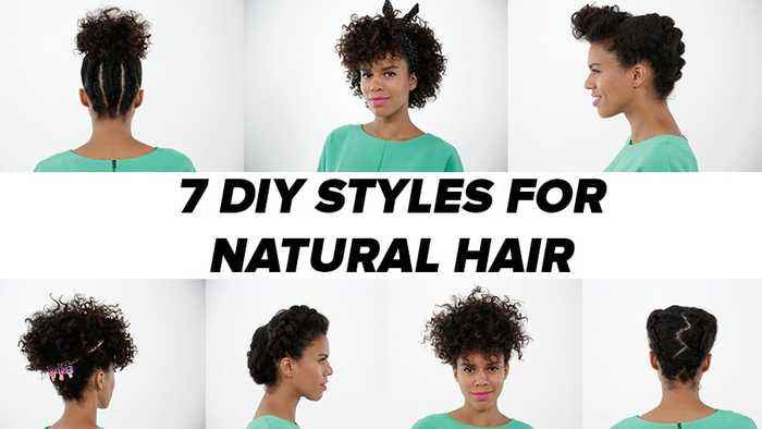 7 Natural Hairstyles You Can Easily Re Create At One News Page Video