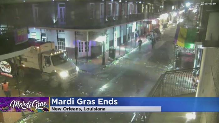 New Orleans Begins Cleaning Up After Mardi Gras  One News