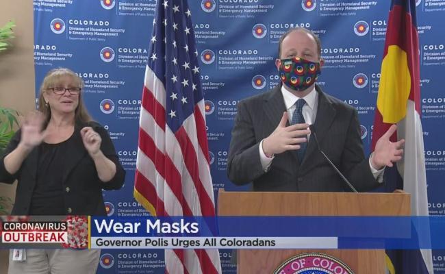 Coronavirus In Colorado Gov Jared Polis One News Page