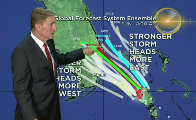 Hurricane Isaias 2pm Update One News Page Video