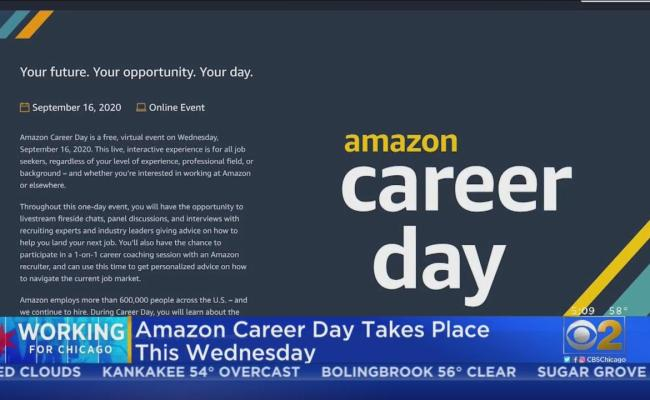 Amazon Hosting Virtual Career Day Wednesday One News