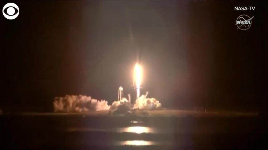 WEB EXTRA: Historic NASA SpaceX Launch - One News Page VIDEO