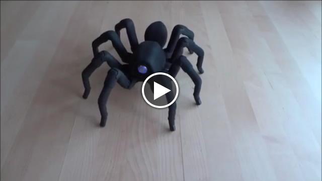 T8 il ragno robot che balla la salsa  Repubblica Tv  la