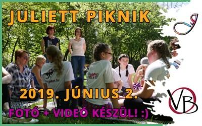 Juliett Piknik a Margitszigeten június 2-án!