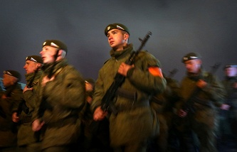 Servicemen of the Russian Armed Forces (archive)