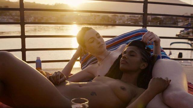 Nude video celebs  Freema Agyeman nude Jamie Clayton