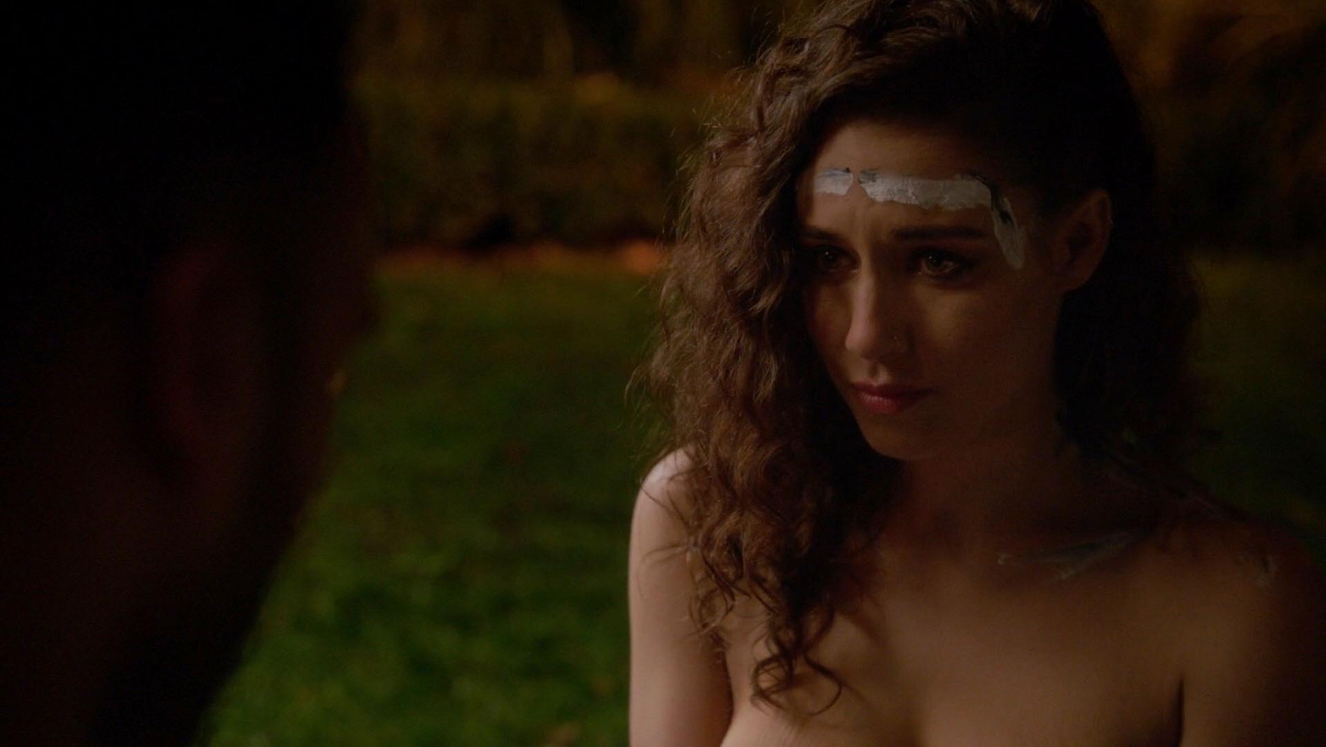 Nude video celebs  Jade Tailor nude  The Magicians
