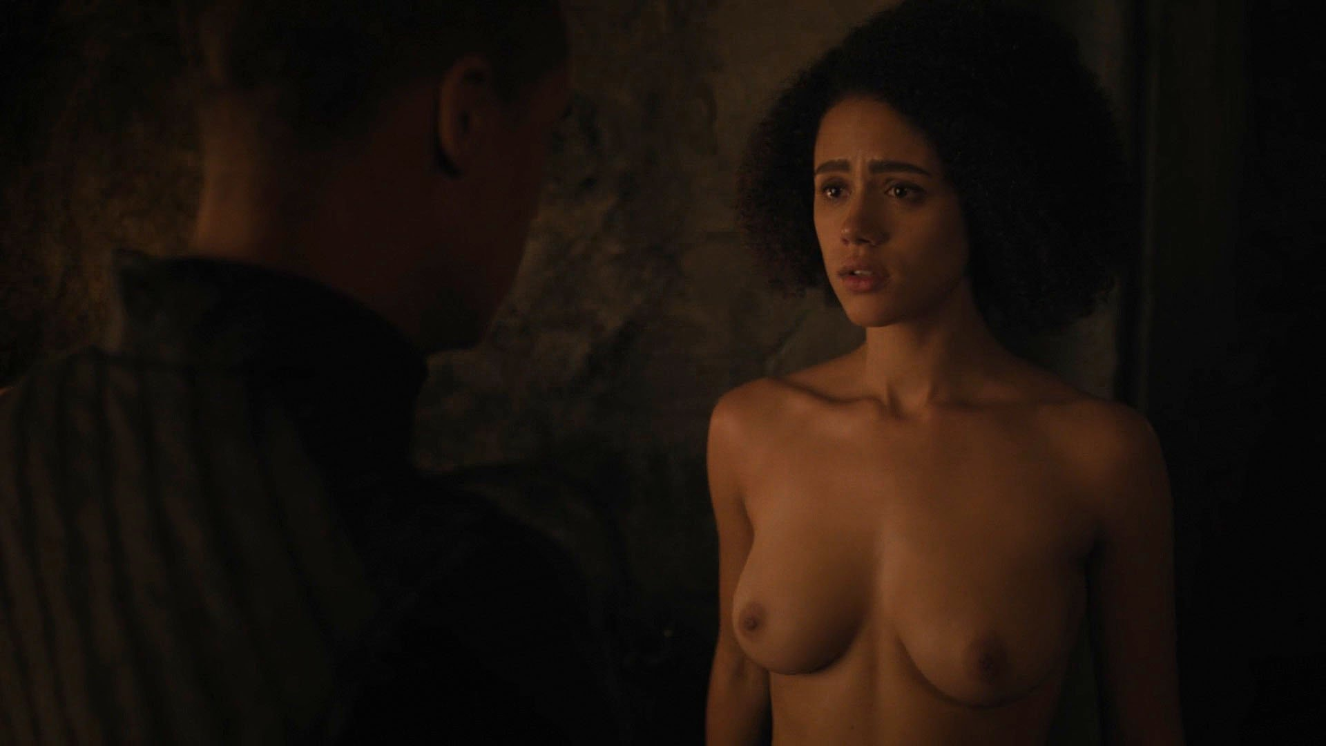 Nude video celebs  Nathalie Emmanuel nude  Game of