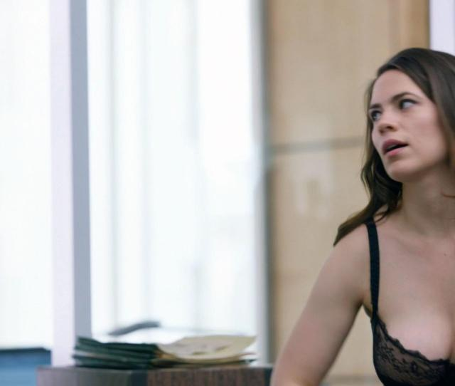 Hayley Atwell Sexy Conviction S01e01 2016