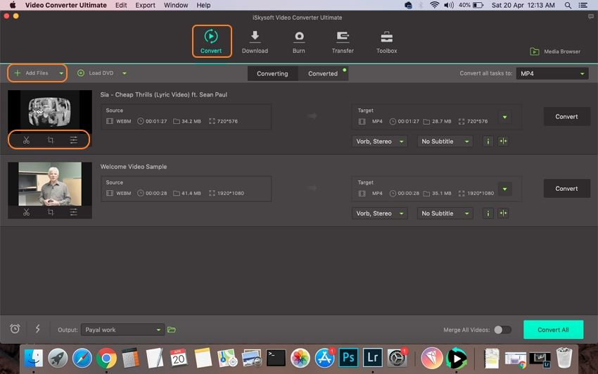 WebM to MP4 Converter: How to Convert WebM to MP4 on Mac/PC Easily