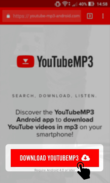 Youtubemp3.tv : youtubemp3.tv, YouTube, Video, Converters, Android