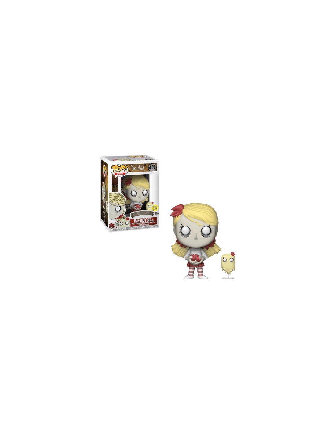 Funko Pop Don T Starve Wendy And Abigail Glow In The Dark