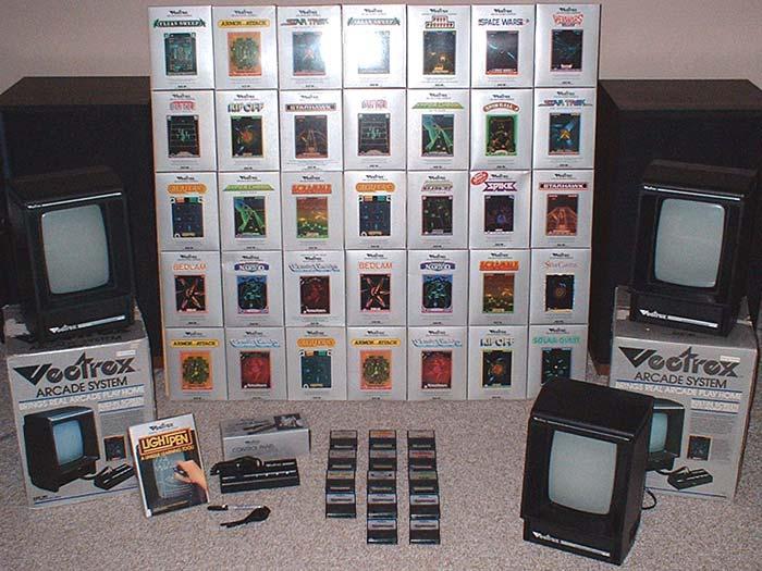 GCE Vectrex Video Game Console Library