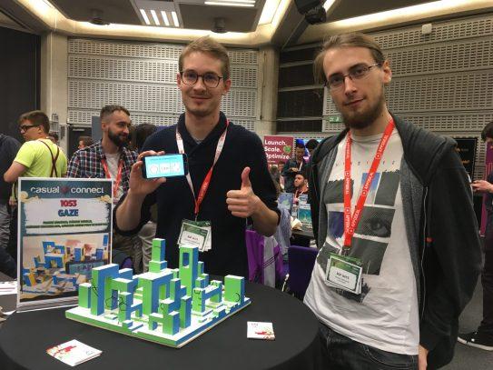Gaze - jeu exposé à l'IndiePrize