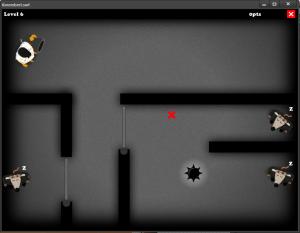 Kmembert mon premiere jeu à la Ludum Dare
