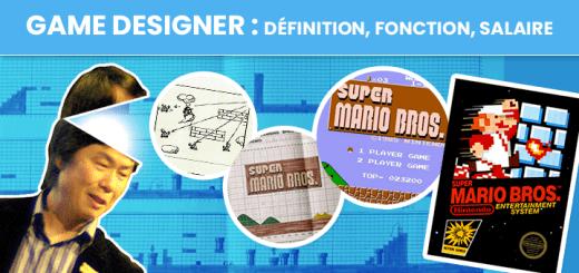 Game Designer : définition, fonction, salaire