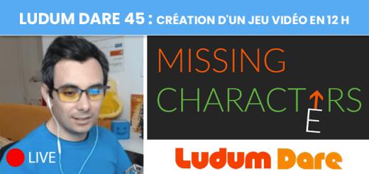 Ludum Dare45 : création d'un jeu vidéo en 12 h