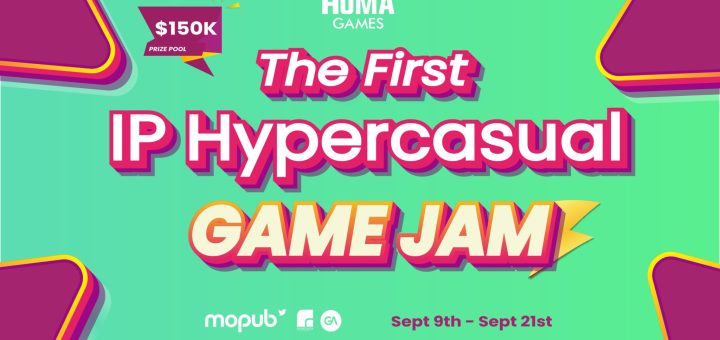 The First IP GAME JAM HYPERCASUAL BY Homagames
