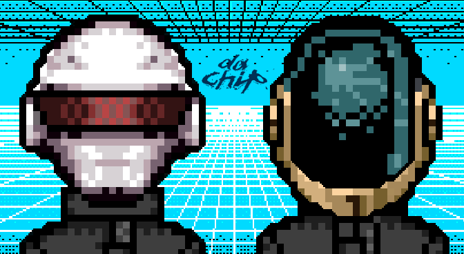 Da Chip Vol. II – Daft Punk Revisited on Vintage Game Systems