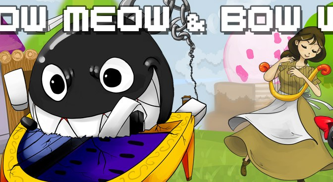 Dj CUTMAN, Spamtron – MeowMeow & BowWow, a tribute to Link's Awakening (Producer's Notes)