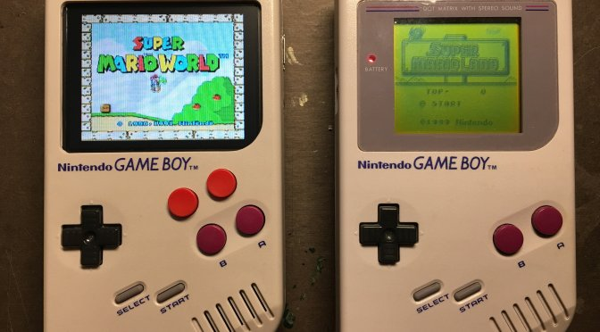 This Custom Gameboy is a dream come true