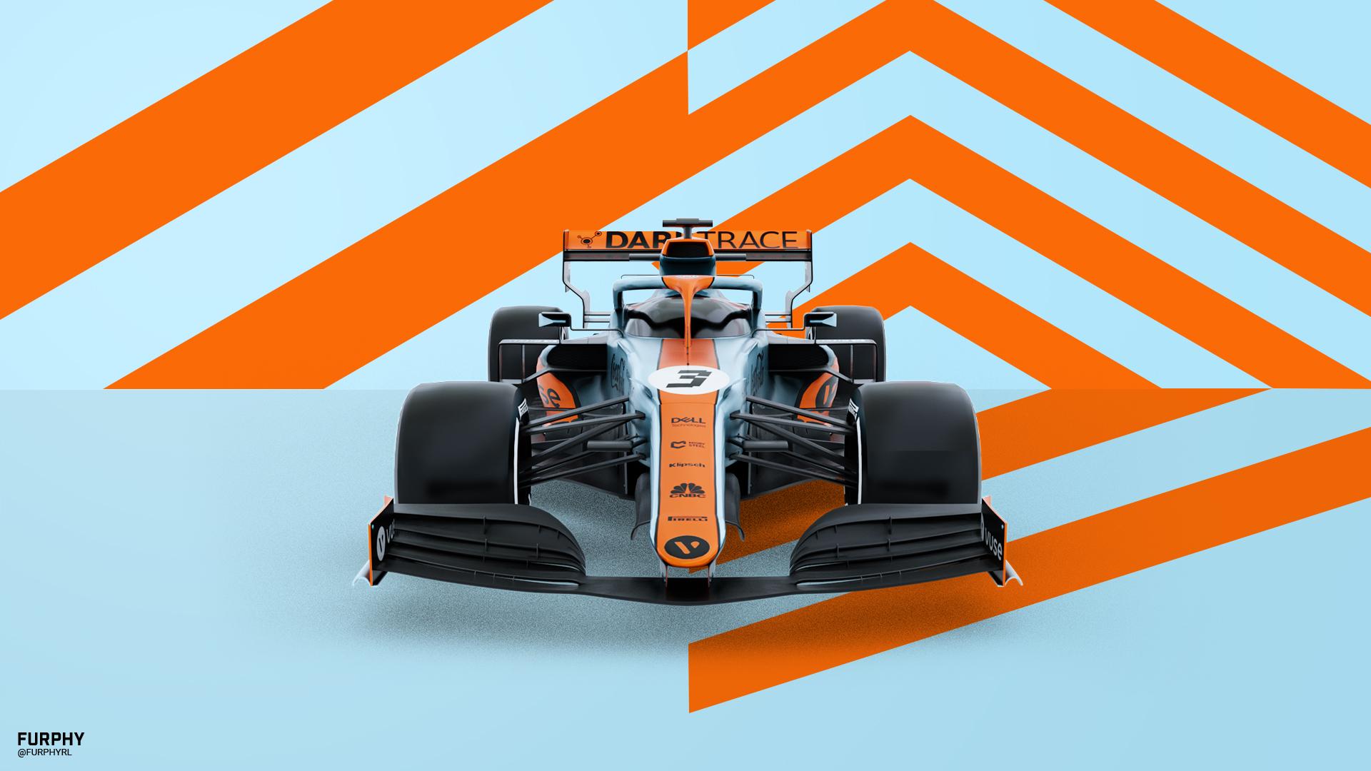 wallpapers Mclaren F1 Monaco Livery Wallpaper 4K video game mods