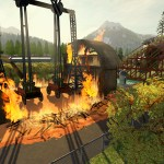 RollerCoaster Tycoon World Fire