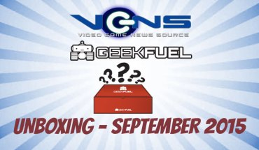 Geek Fuel Unboxing September 2015