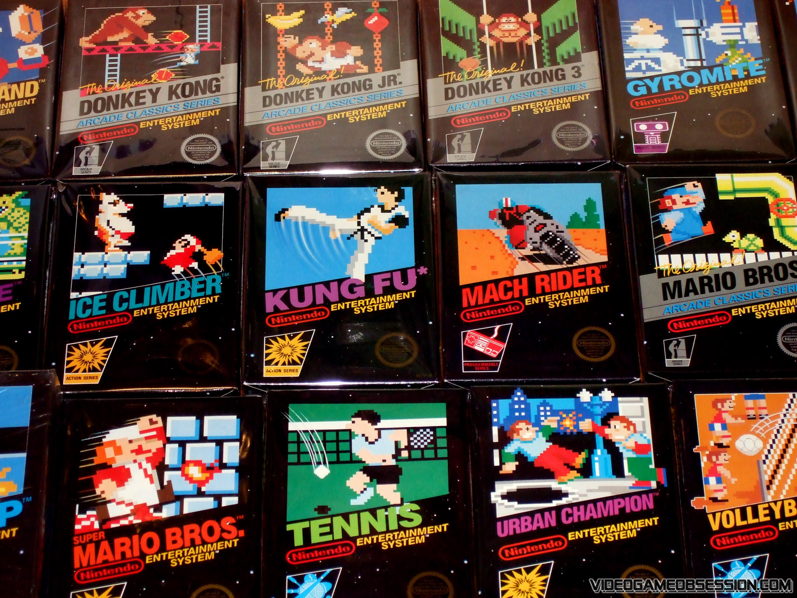 Nintendo 8bit Nes Collection @ Video Game Obsession (c
