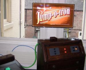 The Jump-o-tron was a particular highlight.