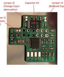 Nintendo 64 RGB Bypass Amp (Revision 1.2b)