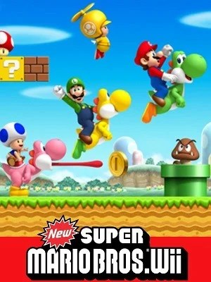 New Super Mario Bros wii facts video game