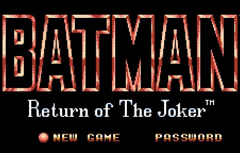 Batman Return of the Joker facts