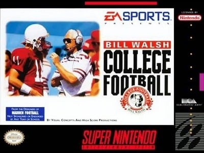 Bill Walsh College Football facts