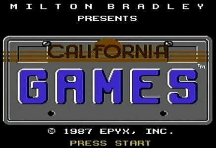 California Games facts