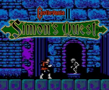 Castlevania II Simon's Quest facts