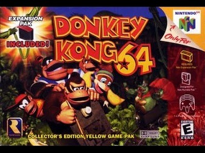 Donkey Kong 64 facts