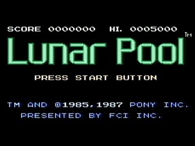 Lunar Pool facts