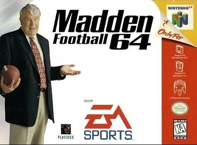 Madden Football 64 facts