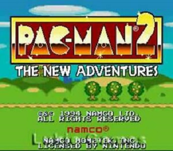 Pac-Man 2 The New Adventures facts
