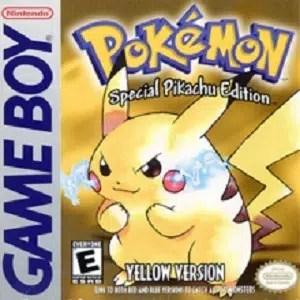 Pokemon Yellow facts