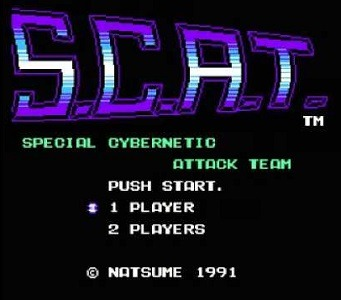 S.C.A.T.: Special Cybernetic Attack Team facts