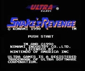 Snake's Revenge facts