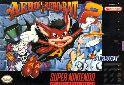 Aero the Acro-Bat 2 facts