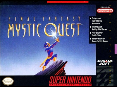 Final Fantasy Mystic Quest facts