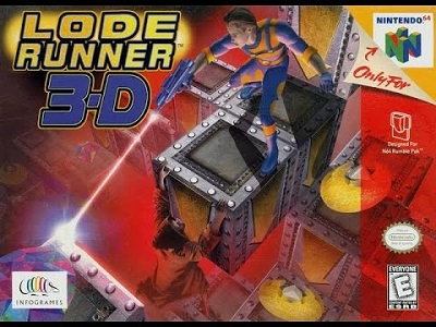 Lode Runner 3-D facts