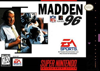 Madden NFL 96 facts