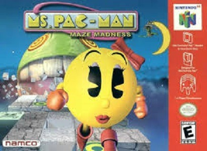Ms. Pac-Man Maze Madness facts