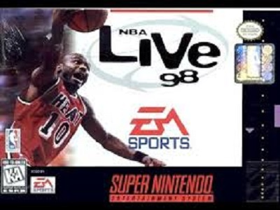 NBA Live 98 facts